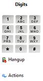 Send Digits buttons